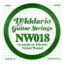NW018 XL Nickel Wound 018 Струна для электрогитар