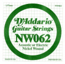 NW062 XL Nickel Wound 062 Струна для электрогитар