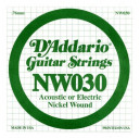NW030 XL Nickel Wound 030 Струна для электрогитар (4-я)