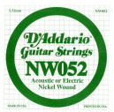 NW052 XL Nickel Wound 052 Струна для электрогитар