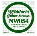 NW054 XL Nickel Wound 054 Струна для электрогитар