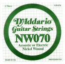 NW070 XL Nickel Wound 070 Струна для электрогитар